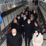 Başkanımız Kemer Merkez Sulama Kooperatifi Toplu Süt Sağım Merkezinin Açılışına Katıldı
